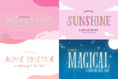 The Crafters Font Collection Product Image 3