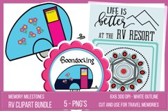 Printable RV Camping Stickers Product Image 1