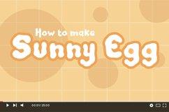 Sense Egg - Display Font Product Image 3