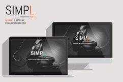 SIMPL Presentation Template Product Image 1