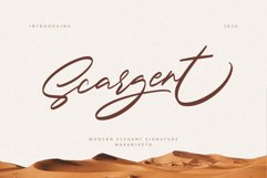 Scargent Product Image 1