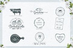 Honey Butter Font Trio & 260 Vectors Product Image 4