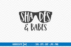 Shades and Babes - SVG DXF JPG PNG EPS Product Image 1