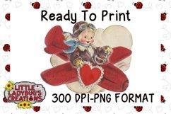 Vintage Flyboy 300DPI PNG Printable Digital Design Product Image 1