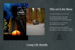 Camping life Graphic. 13 illustration in doodle style Product Image 4
