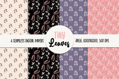 Leaves Seamless Digital Paper - Floral Patterns Product Image 1