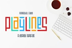 Playlines - Display Typeface Product Image 1