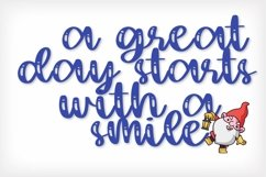 Web Font The Garden Gnomes - A Script & Print Duo Product Image 3