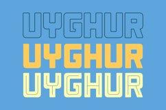 Uyghur - Retro Font // Web Font Product Image 4