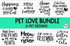 Pet Love Bundle 20 Pet Svg Designs Product Image 1