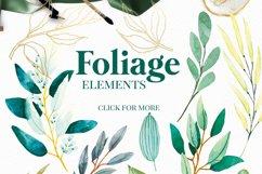 Foliage - Watercolour Leafs Product Image 6
