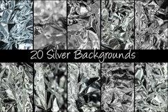 100 Shiny Foil Festive Backgrounds Product Image 3