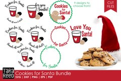 Cookies for Santa - Christmas SVG & Cut Files for Crafters Product Image 1