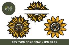 Sunflower svg bundle, sunshine svg bundle, motivational svg Product Image 4