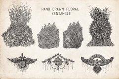 Floral Mandala Hand Drawn Set Product Image 4