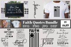 MEGA Faith quotes Bundle, Christian quotes bundle, faith svg Product Image 2