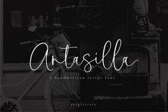 Antasilla - Handwritten Font Product Image 1