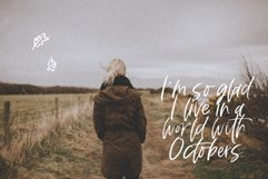 Fall Harvest - A Handwritten Script Font with extras! Product Image 4
