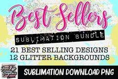 Sublimation designs for tshirts best sellers bundle-PNG Product Image 2