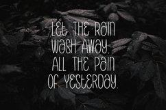 Web Font Floating Rain Product Image 3