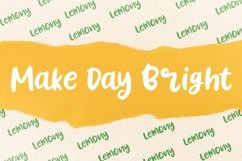 Lemony Fun Handwritten Product Image 4