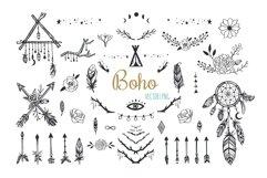 Boho mystic collection, arrows , decor elements,dreamcatcher Product Image 1