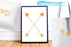 Arrow Doodles graphics and illustrations Product Image 5