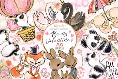 Valentine's clip art Product Image 1