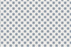Simple Blue Geometric Patterns Product Image 7