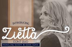 Zietta - Font Duo Product Image 1