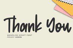 Monolise | Amazing Monoline Font Product Image 4