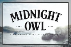Midnight Owl Display Font Product Image 1