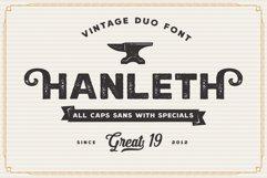 Hanleth Vintage Font Family Product Image 6