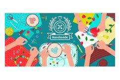 Creative handmade workshop banner Product Image 1