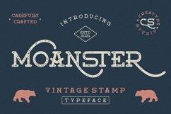 Moanster Vintage Stamp Product Image 1