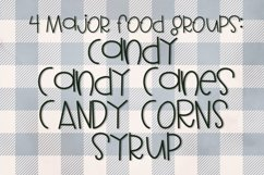 Candy Canes - A Font With Christmas Doodles! Product Image 3