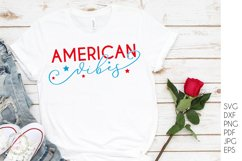 American Vibes svg - USA America 4th of July svg Product Image 3
