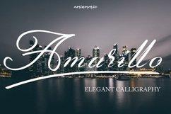 Amarillo | Elegant Calligraphy Product Image 2