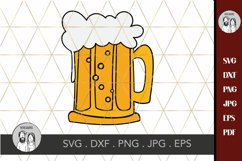 Beer mug svg, drink svg-beer svg-Cricut silhouette Product Image 2