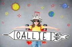 Rocket Kids - A Type-able Rocket Font Product Image 4