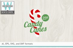 Christmas SVG - Candy Canes Product Image 2