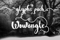 Wowangle Brush Script (Bonus Font) Product Image 2