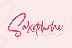 Saxophone Script Product Image 1