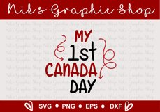Canada Day SVG, Happy Canada Day SVG, Canada svgs Product Image 3