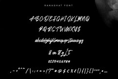 Ranaghat   Handwritten Script Font Product Image 2