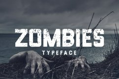 Web Font Zombies Typeface Product Image 1