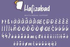 Hafizabad | Cute Display Font Product Image 3