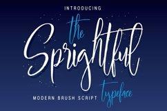 Sprightful Typeface Product Image 1