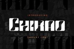 Web Font Chikao Font Product Image 1