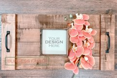 Mockup Square Sign Farm Style | JPEG Product Image 1